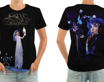STEVIE NICKS beladonna shirt all sizes