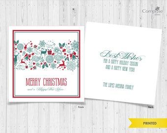 Christmas Cards - Printed - Holidays