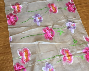 Beautiful Silk and Rayon textile from Osborne and Little Pattern Loyang