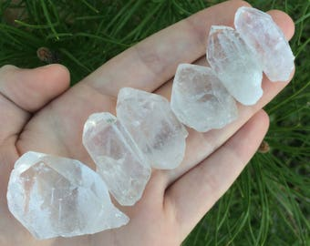 Rough Quartz Point Set (6)