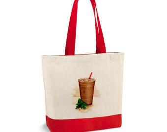Hand-paint Starbucks bag