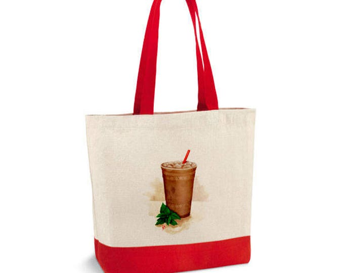 Hand-paint Starbucks bag