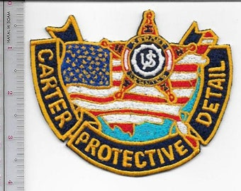 US Secret Service USSS President Jimmy Carter Protective Detail 1977 to 1981