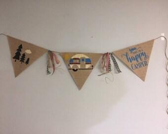 happy camper banner