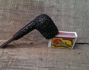 REAL BRIAR Smoking Pipe, Vintage Pipe, Briar Material, Tobacco Pipe, Collectible Pipe, Accessory for Smokers, Gift Idea