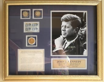 Limited Edition Commemorative Collection Honoring President John F. Kennedy.