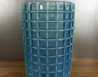 Pressed Square Round Vase