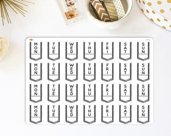 Bullet Journal Header Stickers | Made for your bullet journal. 849L