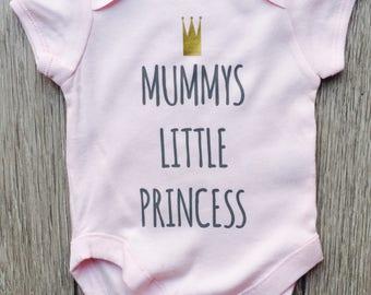 Mummy's Princess Baby Grow