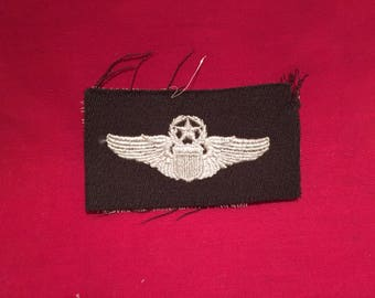 WW2 U.S Army Air Corps Command Pilot Cloth Wing
