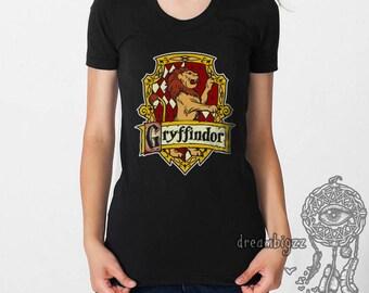 Gryffin #2 Crest on White, Black or sport grey Women tee