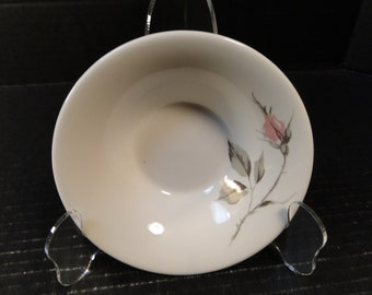 """Knowles Dawn Rose Berry Bowl Designed by Kalla 5 1/2"""" EXCELLENT!"""