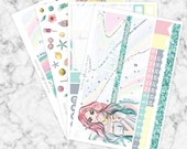 JUNE // Erin Condren Vertical Monthly Planner Kit