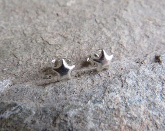 925 Sterling silver Star Earrings