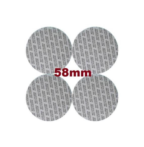 58 mm Pressure Sensitive PS Foam Cap Liners Seal Tamper Seal Sealed for your Protection US Seller