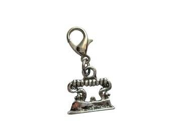 Iron pendant charms bracelet 3d Pendant