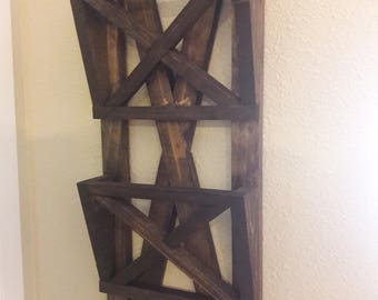 2 Tier Wall Mounted Letter Holder