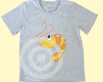 Shrimp shirt Kids tshirts -Toddler tees -Toddler shirts - Cute Toddler shirts - Sea animals tshirt - Shrimp tshirt