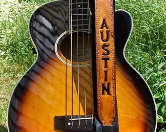 ANNEX - ***INSERTS ONLY*** Interchangeable Guitar Strap Inserts Personalized