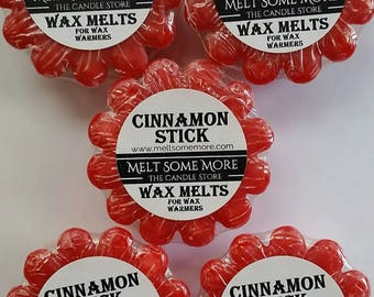 Wax Melts Cinnamon Stick Bundle scented melts for any wax warmers