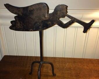 Vintage Angel Weathervane Candle holder