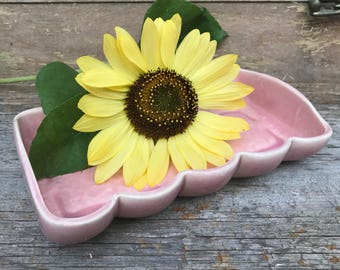 Nelson McCoy USA pink tray