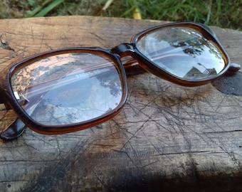 Vintage Soviet Glasses Frames 70's, Soviet Era retro glasses, Hipster glasses frames