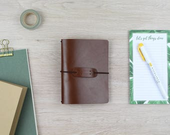 "Traveler's notebook ""chestnut"" - Field Notes"