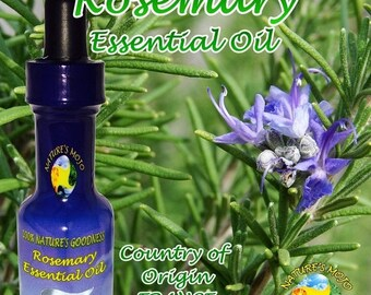 1st Day of Summer 20% Off Rosemary Essential Oil 30 ml From France