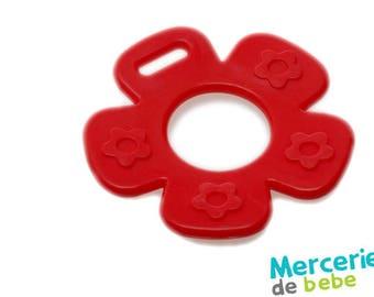 Decorative red - flower shape - C24 - RS9 element