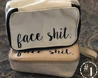 FACE SH*T Cosmetic Bags