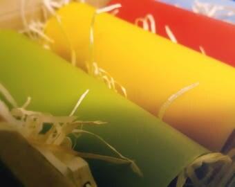Portent ~ 3 colour (hotter) wax play set
