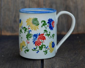 Multi flower II mug
