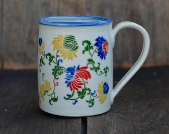 Multi flower II mug