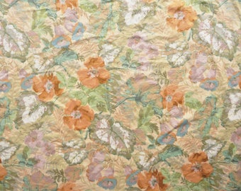Exbury cotton fabric remnant by Sanderson 54 x 33""