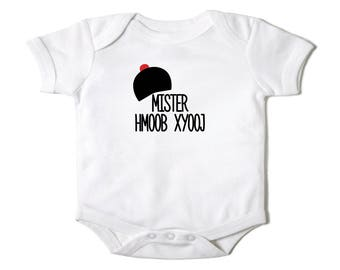 Custom - Mister Hmong Last Name Infant Bodysuit