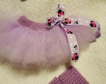 Infant minnie mouse tutu set