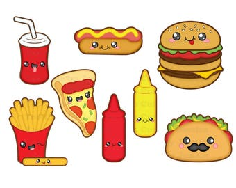 Kawaii svg, kawaii food svg, kawaii fast food svg, svg kawaii, kawaii food svg, kawaii fast food, kawaii hamburger svg, kawaii fries svg,svg