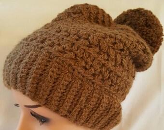 Alpaca Crocheted Hat
