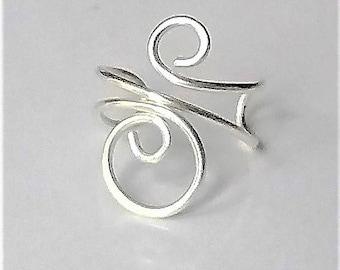 925 Sterling Silver Cuff Earrings, Silver Ear Jacket, Fake Cartilage Earrings, Modern Jewelry, Minimalist Earrings, Ear Cuff No Piercing.