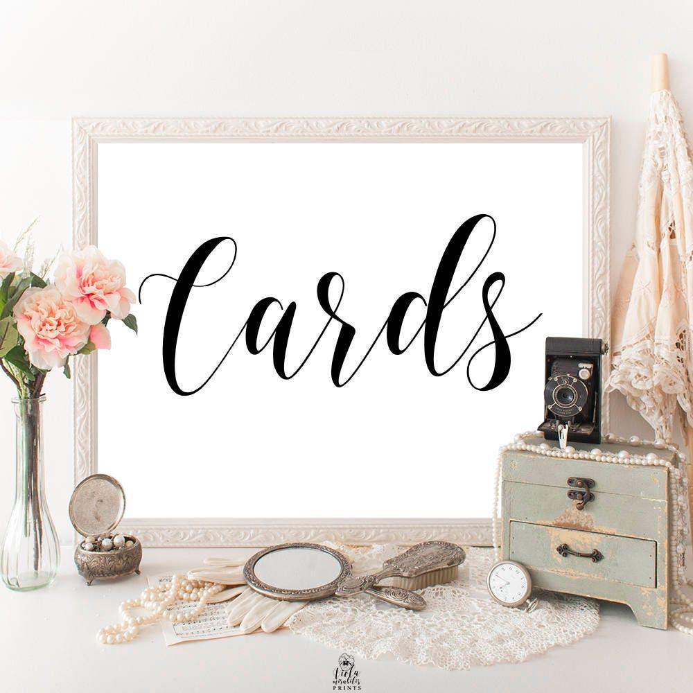 Card box sign Cards sign wedding Summer wedding ideas Card table ...