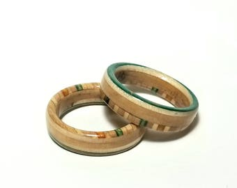 Peace Rings 2x (size 10)