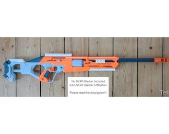 Nerf Accustrike Alphahawk Sniper Extensions / Modifications