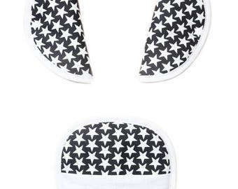 """Protects belt Kit / protects-safety strap """"Stars at night"""" (baby & child)"""