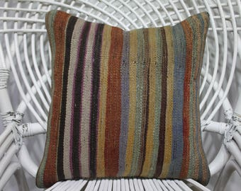 16x16 wool pillow turkish cushions 16x16 bohemian throw pillows pillow covers 16 x 16 kilim pillow covers 16x16 turkish pillow 3459