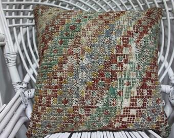 18x18 pillow covers 18x18 bohemian decor kilim pillow floral kilim cushion cover indian furniture tissu azteque sofa cover 2198