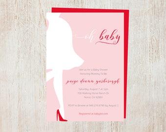 Baby Shower Invites - Baby Girl
