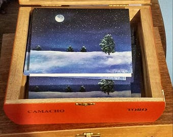 Moonlight Winter cards