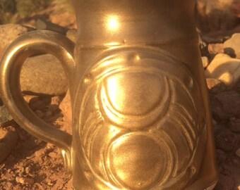 Gold Modern God Stein