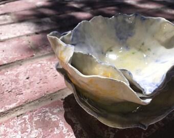 4 Handmade bowls
